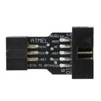 Переходник-Адаптер 10 pin на 6 pin для USBASP ISP