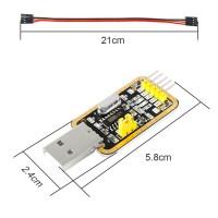 Конвертер H340G USB в TTL (RS232) CH340 адаптер USB/UART + CTS, RTS