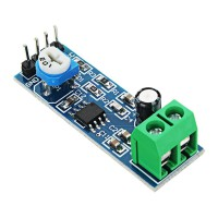 Модуль аудио усилителя LM386, 4-12В
