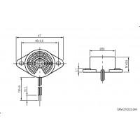 SFM-27-I – активный зуммер c постоянным сигналом (сигнализация)