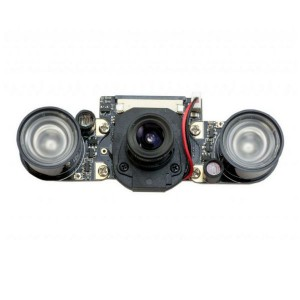 5-МП камера с регулируемым фокусом и ночной ИК подсветкой для Raspberry Pi