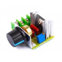 Симисторный регулятор напряжения 2000Вт 220В