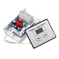 Симисторный регулятор напряжения 10000Вт 220В (с электронной регулировкой) Преобразователи питания