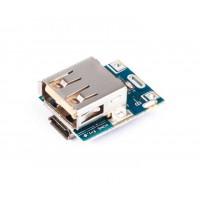 Повышающий DC-DC преобразователь 134N3P, модуль заряда LiPo с USB