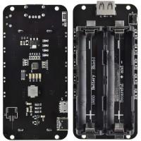Аккумуляторный блок 2x 18650 V8 для питания плат Arduino, ESP8266, ESP32 Преобразователи питания