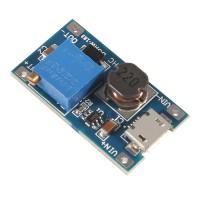 Повышающий DC-DC преобразователь MT3608 с micro usb