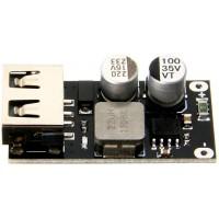 Понижающий DC-DC преобразователь USB 12-24 В QC3.0 Преобразователи питания