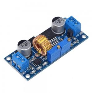 Понижающий DC-DC преобразователь XL4015 с регулировкой напряжения и тока (синий) Преобразователи питания