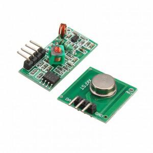 Приемник и передатчик на 433 МГц