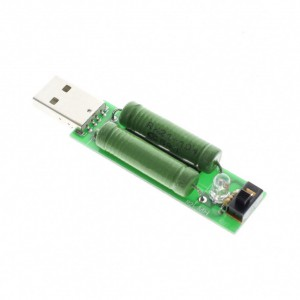USB нагрузочный резистор 2А / 1A