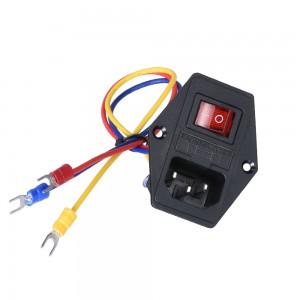Разъем питания AC-014 с проводами Источники питания AC-DC