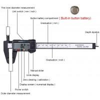 Штангенциркуль цифровой 150 мм / 0.01 мм (пластиковый)