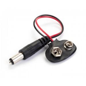 Адаптер питания 9В с коннектором Отсеки для батареек