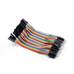 Соединительные провода 40 шт Dupont папа-мама 30 см