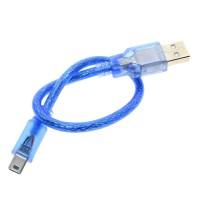 Кабель USB A - mini USB B - 30 см