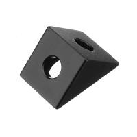 Уголок для крепления алюминиевого профиля 20х20 для станков ЧПУ, 3d принтера