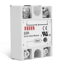 Однофазное твердотельное реле FOTEK SSR-25 DA для 3d принтера