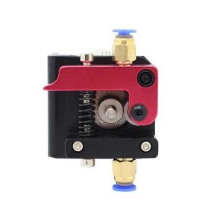 Механизм боуден подачи MK8 (красный) - левый для 3d принтера