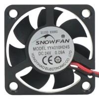 Вентилятор 24В 40x40x10 (малошумный) для 3d принтера