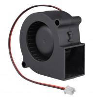 Вентилятор 12В 75x75x30 улитка для 3d принтера
