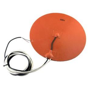 Нагревательный стол, силиконовый D200 мм для 3d принтера