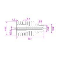 Радиатор V5 1.75 мм для 3d принтера