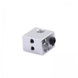 Универсальный нагревательный блок MK7/MK8/MK10/E3D V5-V6 для 3d принтера