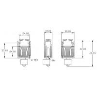 Хотэнд Cyclops 2 in 1 v.2 (12В) для 3d принтера