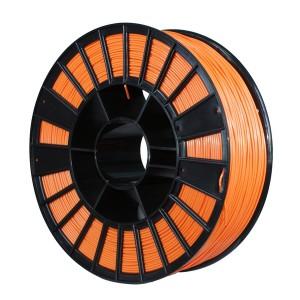 Пластик для 3D принтера ABS X 1,75 мм 0,75 кг (element3d) оранжевый