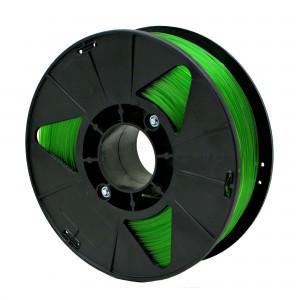 Пластик для 3D принтера PETG 1,75 мм 1 кг (element3d) зеленый прозрачный