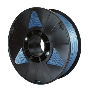 Пластик для 3D принтера PLA 1,75 мм 1 кг (element3d) синий металлик