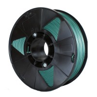 Пластик для 3D принтера PLA 1,75 мм 1 кг (element3d)  зеленый металлик