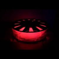 Пластик для 3D принтера PLA 1,75 мм 0,5 кг (element3d) красный люминесцентный