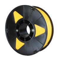 Пластик для 3D принтера PLA 1,75 мм 1 кг (element3d)  желтый