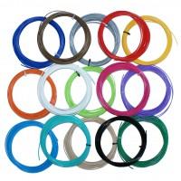 Набор пластика для 3D ручки - 15 цветов