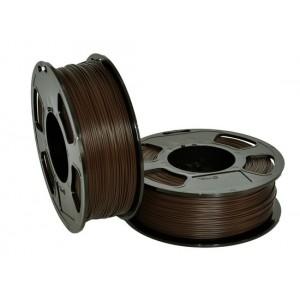 Пластик для 3D принтера GF ABS ARABICA 1,75 мм 1 кг (u3print) коричневый