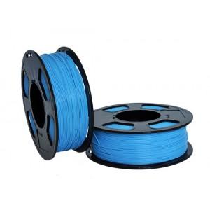 Пластик для 3D принтера GF ABS BLUE MOON 1,75 мм 1 кг (u3print) голубой