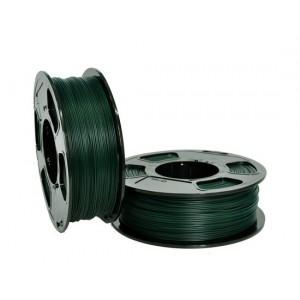 Пластик для 3D принтера GF ABS PIGMENT GREEN 1,75 мм 1 кг (u3print) темно-зеленый