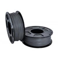 Пластик для 3D принтера U3 HP ABS SILVER METALLIC 1,75 мм 1 кг (u3print) серебряный металлик