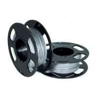 Пластик для 3D принтера U3 PETG ALUMINIUM 1,75 мм 1 кг (u3print) алюминий