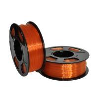 Пластик для 3D принтера GF PETG AMBER TRANSPARENT 1,75 мм 1 кг (u3print) янтарь