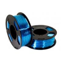 Пластик для 3D принтера GF PETG BLUE SKY TRANSPARENT 1,75 мм 1 кг (u3print) голубое небо прозрачный