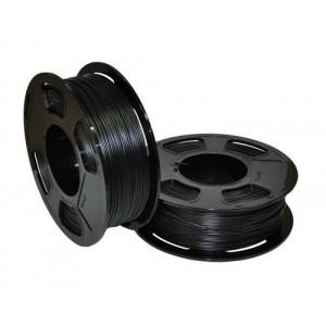 Пластик для 3D принтера GF PETG BLACK DIAMOND TRANSPARENT 1,75 мм 1 кг (u3print) черный бриллиант прозрачный