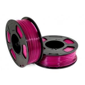 Пластик для 3D принтера GF PETG RASPBERRY 1,75 мм 1 кг (u3print) малиновый прозрачный
