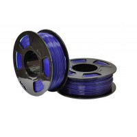 Пластик для 3D принтера GF PETG SAPPHIRE TRANSPARENT 1,75 мм 1 кг (u3print) сапфировый прозрачный