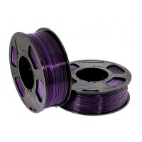 Пластик для 3D принтера GF PETG PURPLE 1,75 мм 1 кг (u3print) фиолетовый прозрачный