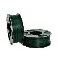 Пластик для 3D принтера GF PLA PIGMENT GREEN 1,75 мм 1 кг (U3PRINT) темно-зеленый