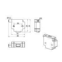 Датчик окончания филамента для 3d принтера
