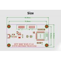 Wi-Fi модуль для плат управления BTT SKR 1.1, 1.3, 1.4 для 3d принтера