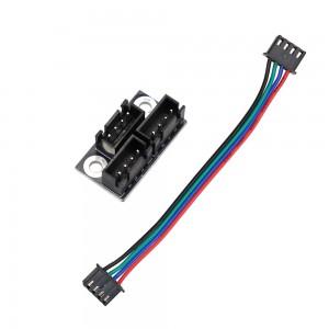 Модуль параллельного подключения 2 шаговых двигателей для 3d принтера